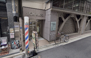 吉田デンタルクリニックがあるビルの入り口